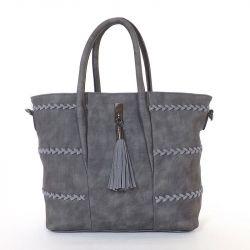 GRACE bags női divattáska szürke színű