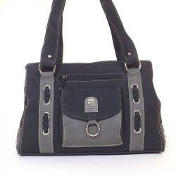 LAURENCE C női divattáska fekete - szürke színű 5010232bbf