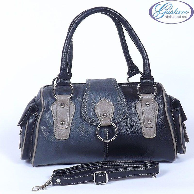 7d1ff7fc8043 LAURENCE C női divattáska fekete - szürke - bézs színű