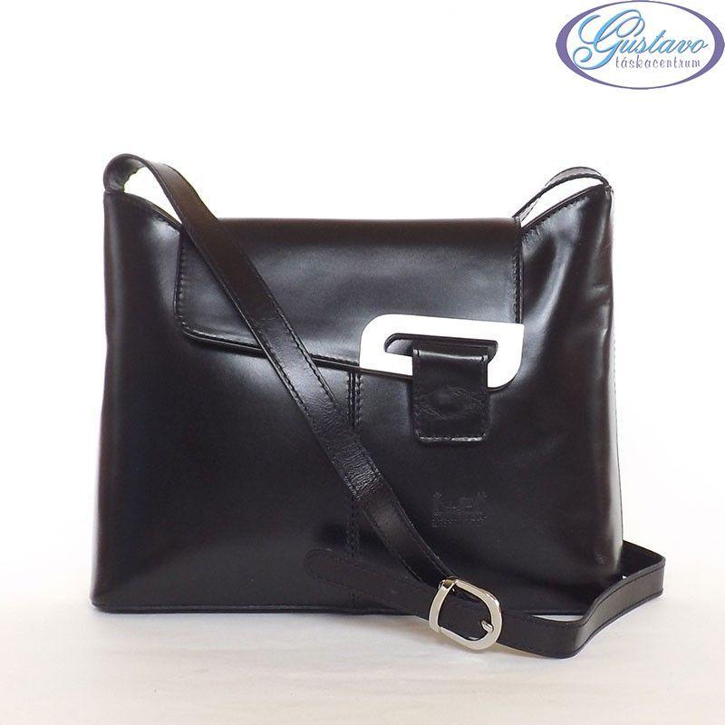 b22ba44d2770 MAX MODA női bőrtáska fekete színű