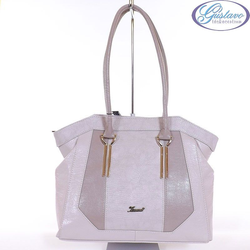 94550cc20c KAREN rostbőr női táska bézs - barna színű
