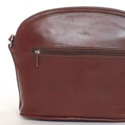 VERA PELLE Női bőr táska barna színű