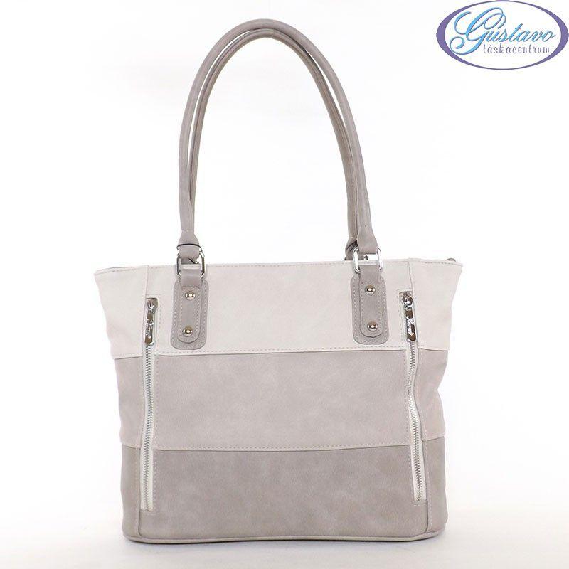KAREN rostbőr női táska kávé-kapucsínó-bézs színű 0917ddc469