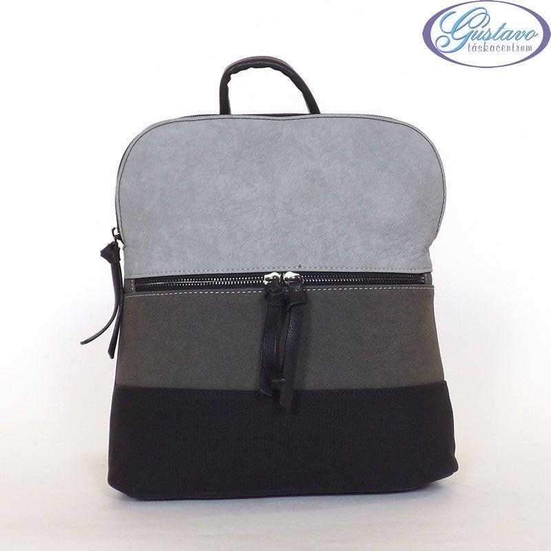 URBAN női hátitáska fekete színű csíkos f6228ba290