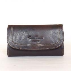 CORVO BIANCO Női bőr pénztárca barna színű