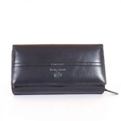EMPORIO VALENTINI női bőr pénztárca fekete színű