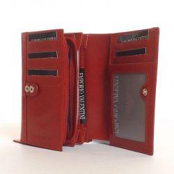EMPORIO VALENTINI női bőr pénztárca piros színű