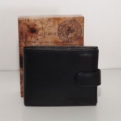 SYNCHRONY bőr férfi pénztárca