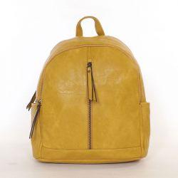 PHIL női hátitáska sárga színű
