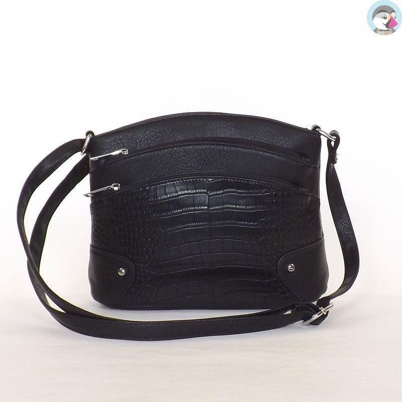URBAN női divattáska fekete színű