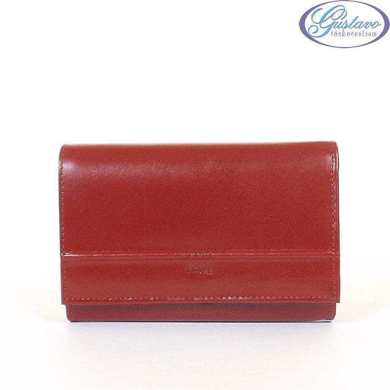 BIANCA FIORE női pénztárca piros színű