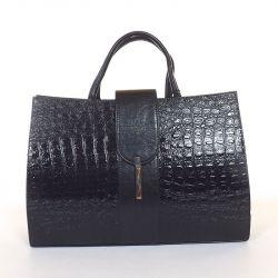 KAREN rostbőr női  táska kapucsínó színű