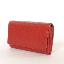 Női bőr pénztárca piros...