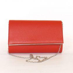 Női alkalmi táska piros színű