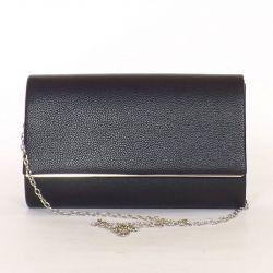 Női alkalmi táska fekete színű