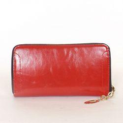 Női pénztárca piros színű
