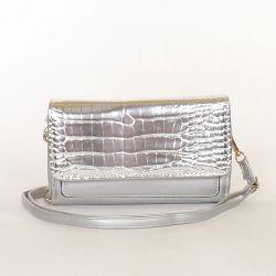 DUDLIN Női divattáska ezüst...