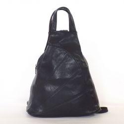 Női hátitáska fekete színű