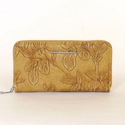 Női pénztárca sárga színű