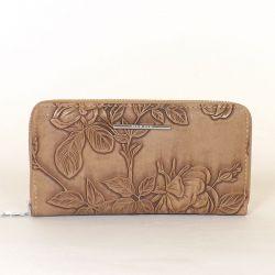 Női pénztárca barna színű