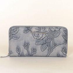 Női pénztárca kék színű