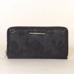 Női pénztárca fekete színű