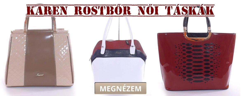 Rostbőr női táskák